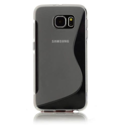 Samsung Galaxy S7 Edge TPU S - Shape Case - Black