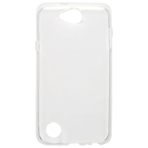 Étui souple ajusté de Blu Element pour X Power 2 de LG - Transparent
