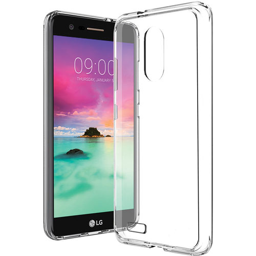 Blu Element Fitted Soft Shell Case for LG Stylo 3 Plus - Clear