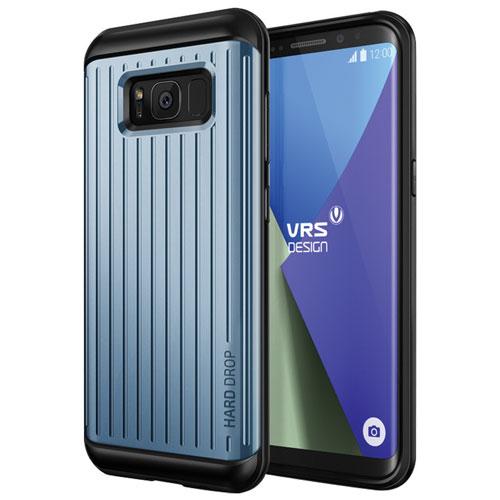 Étui souple ajusté Thor de VRS Design pour Galaxy S8 - Corail bleu