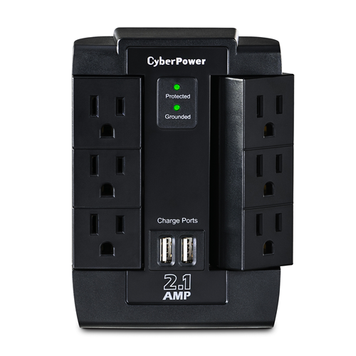Cyberpower Professional Surge Protector (CSP600WSU)
