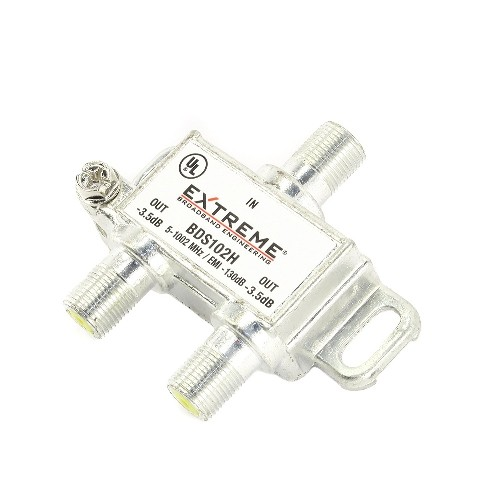 Extreme 2 Way Digital Coaxial Splitter - BDS102H