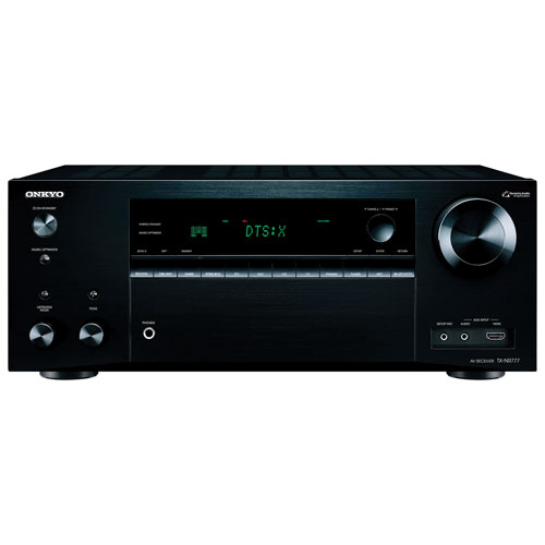 Onkyo TX-NR777 7.2 Channel 3D 4K Ultra HD Network AV Receiver