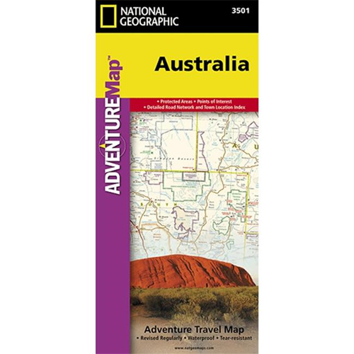 Map Of Australia To Buy.National Geographic 9781566955904 Australia Adventure Map Other