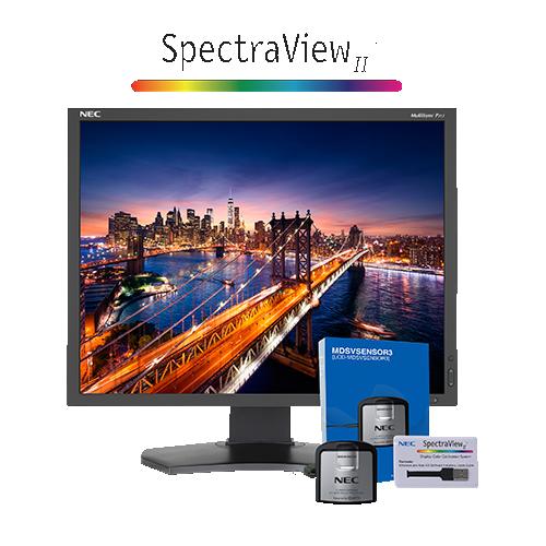 "NEC 21.3"" 1600 x 1200 85 Hz 8 ms GTG LED Monitor - Black - (P212-BK-SV)"