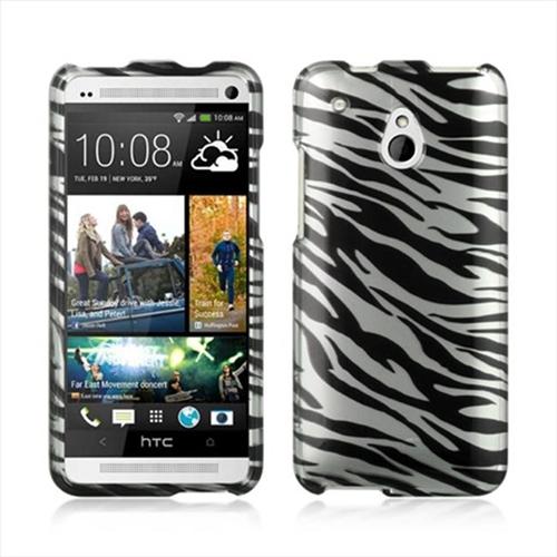 DreamWireless CAHTCM4SLZ Htc One Mini M4 Crystal Case - Silver Zebra