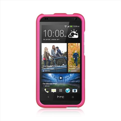 Dreamwireless Fitted Soft Shell Case for HTC Desire 601 - Hot Pink
