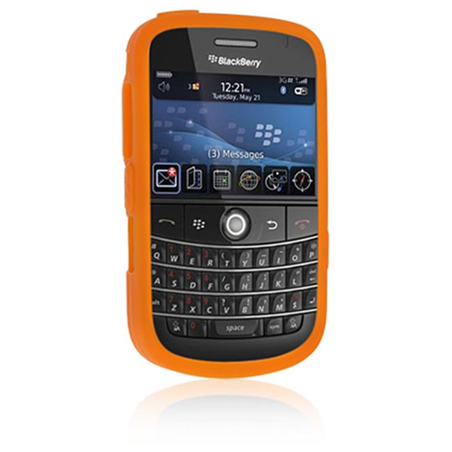 DreamWireless SCBB9000OR-PR Blackberry Bold 9000 Premium Skin Case - Orange
