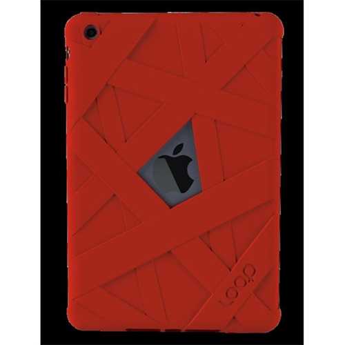 Loop Attachment loop4red Mummy Case For Ipad Mini - Red