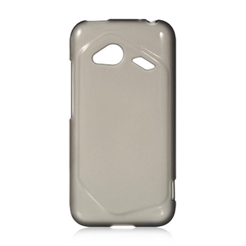 DreamWireless CSHTCINC4GSM-TN HTC Droid Incredible 4G LTE Crystal Skin Case Smoke Tinted