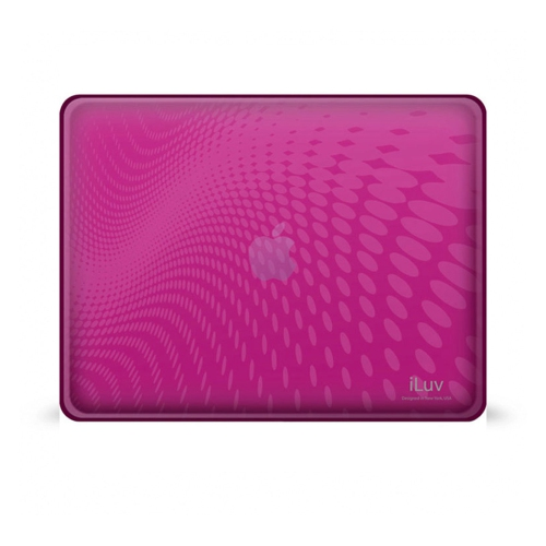 Iluv iCC802PNK Ipad Flexi-Clear Tpu Case Pink