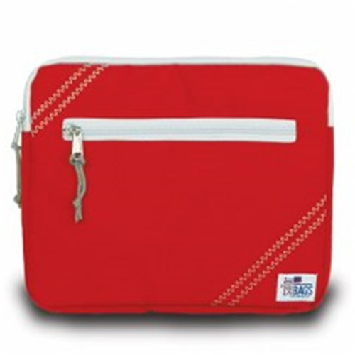 Sailor Bags 343-RG iPad Sleeve True Red with Grey Trim