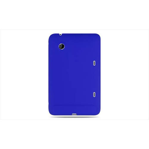 DreamWireless EB-SCHTCEVOVBL-PR Htc Flyer & Htc Evo View 4G Premium Skin Case Blue