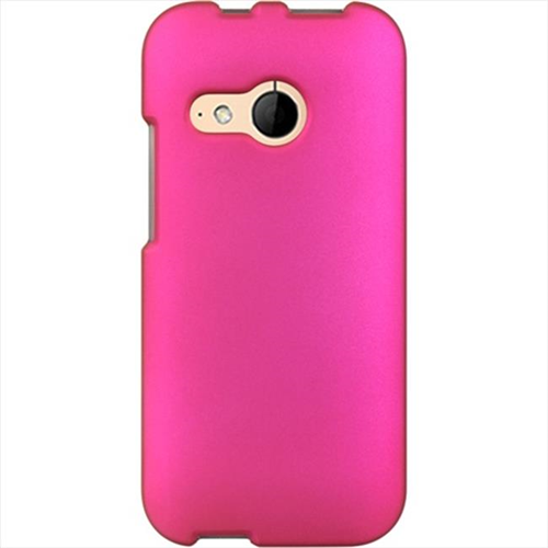 DreamWireless CRHTCM8MINIHP HTC One Mini2 Crystal Rubber Case Hot Pink