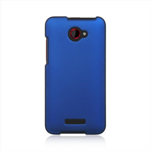 DreamWireless CRHTCDLXBL HTC DLX & Droid DNA Rubber Case Blue