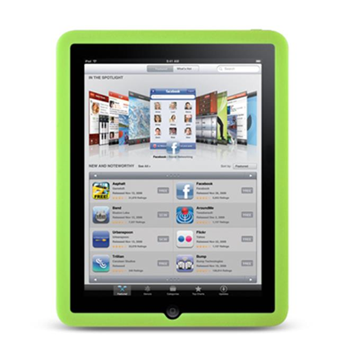 DreamWireless IPOD-SCIDGR-PR Apple iPad Skin Case - Green