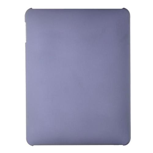 DreamWireless IPOD-CRIDPP-R Apple iPad Crystal Rubber Case Rear Only - Purple