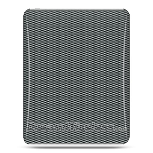 DreamWireless IPOD-CAIDCF-R Apple iPad Crystal Case Rear Case Only - Carbon Fiber