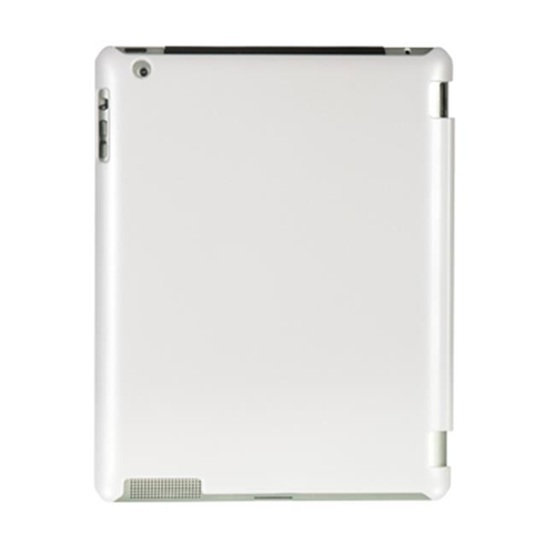 DreamWireless IPOD-CAID2SMCWT-R Apple iPad 2 Crystal Rubber Case Rear - White