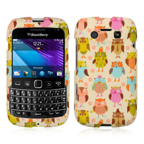 DreamWireless CRBB9790FANOWL Blackberry 9790 Crystal Skin Case Fancy Owl