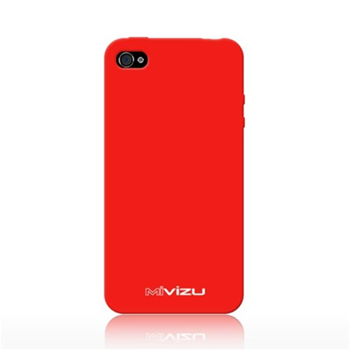 Mivizu CIPH4MVZWRPRD00 Red Endulge Iphone 4 Skin