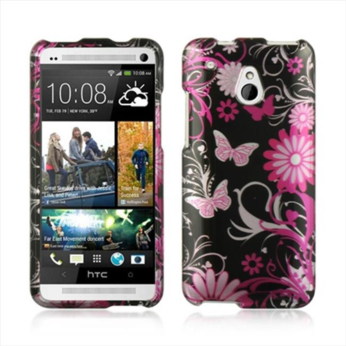 Dreamwireless Fitted Hard Shell Case for HTC One Mini - Pink