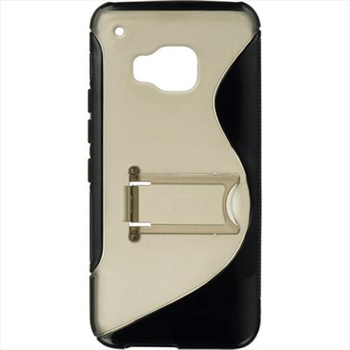 DreamWireless TPCHTCM9-STDS-BKSM HTC M9 Standed Candy Case Black Trim With Smoke