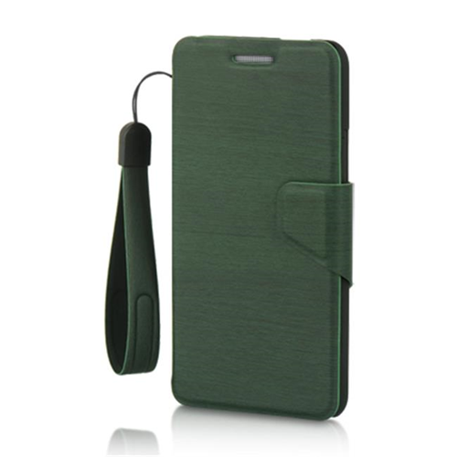 Dreamwireless Wallet Case for HTC One M7 - Green