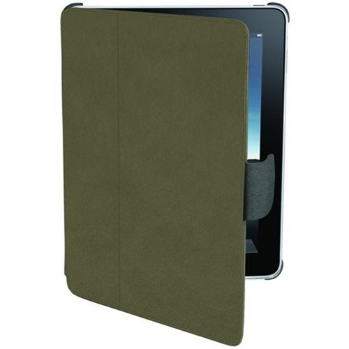 Macally Bookstandg Ipad Protective Suede Case & Stand - Green