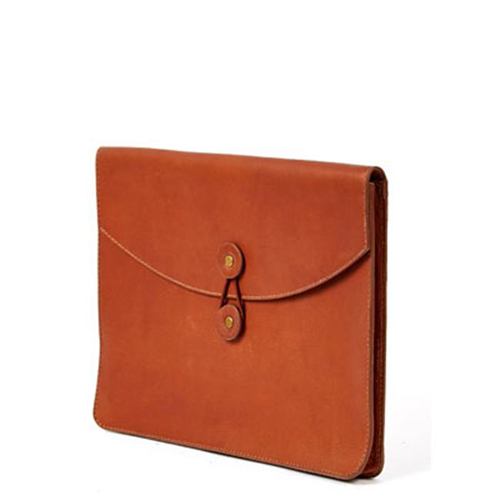 Claire Chase 635-Tan Luxury Ipad Holder Tan