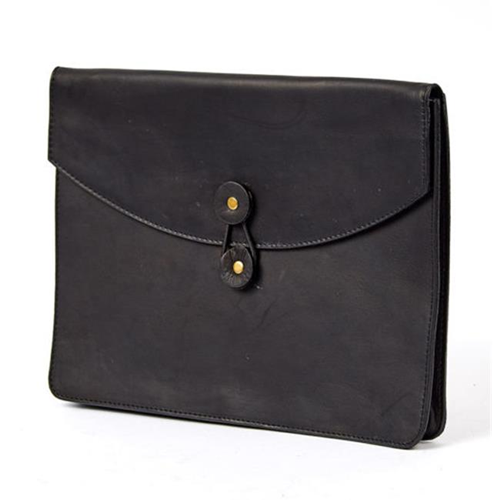 Claire Chase 635-Black Luxury Ipad Holder Black