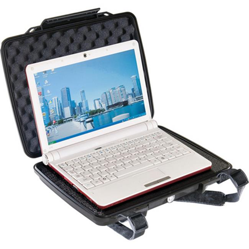 Pelican 1070-000-110 1075 Tablet Protective Case for Netbooks and 10.1 in Tablets - Black