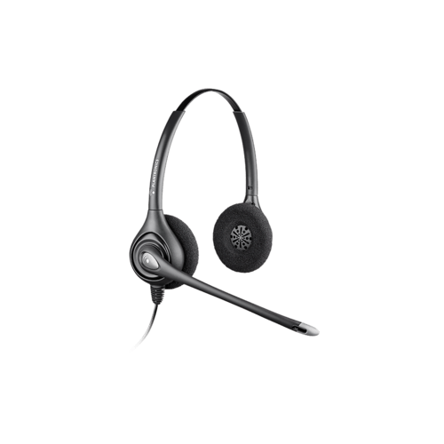 Plantronics Supraplus Wideband Binaural Noise Canceling Headset (64339-31)