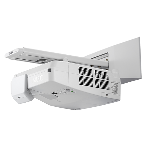 NEC 3600-Lumen Ultra Short Throw Projector (NP-UM361X-WK)
