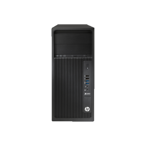 HP Workstation Z240 Microtower (Intel Core i7-6700 / 256 GB SSD / 16GB RAM / Intel HD Graphics 530 / Windows 10)-(L9K20UT#ABA)