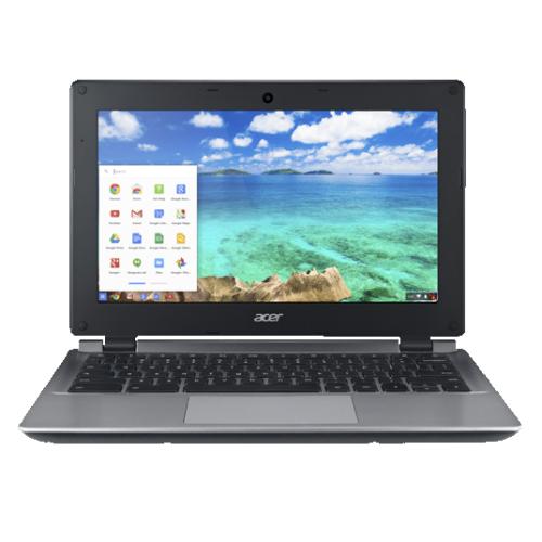 "Acer C730E 11.6"" Chromebook (Intel Celeron N2840/16GB eMMC/2GB RAM/Chrome OS) - NX.GC1AA.003"