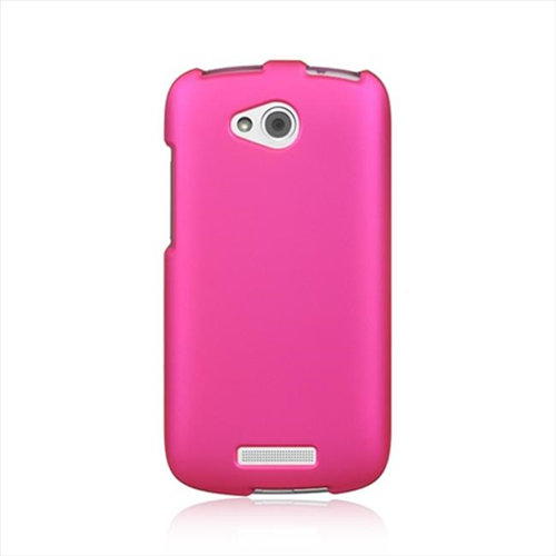 DreamWireless CRHTCONEVXHP HTC One VX Crystal Rubber Case Hot Pink