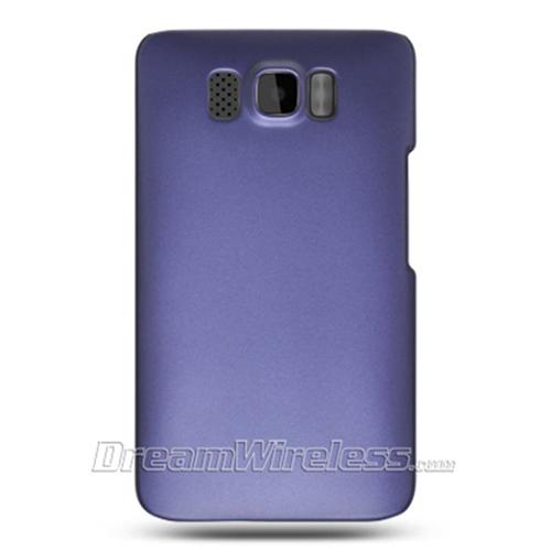 DreamWireless CRHTCHD2PP-R HTC HD2 Crystal Rubber Case - Rear Only Purple