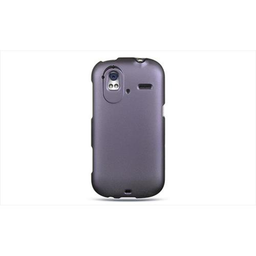 DreamWireless CRHTCAMAZEPP HTC Amaze 4G & Ruby Crystal Rubber Case Purple