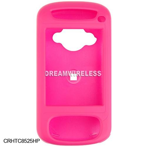 DreamWireless CRHTC8525HP HTC 8525 Rubber Case Hot Pink