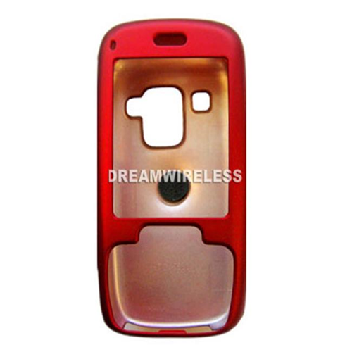DreamWireless CRHTC5800RD HTC 5800 Rubber Case Red