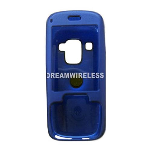 DreamWireless CRHTC5800BL HTC 5800 Rubber Case Blue