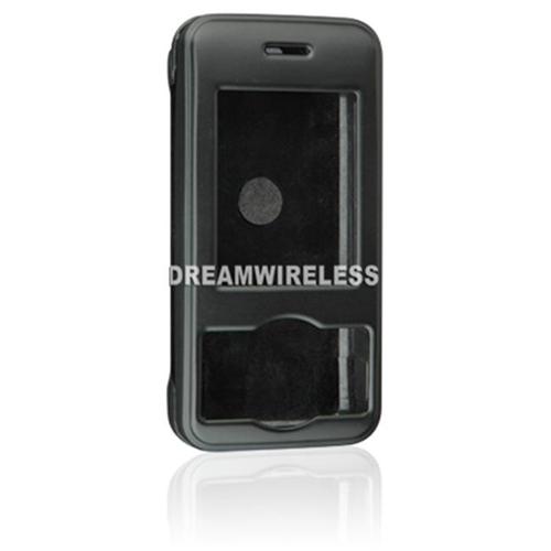 DreamWireless CRHTC5800BK HTC 5800 Rubber Case Black