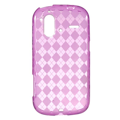 DreamWireless CSHTCAMAZEHPCK HTC Amaze 4G & Ruby Crystal Skin Case Hot Pink Checker