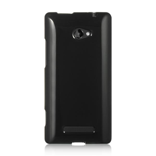 DreamWireless CSHTC8XBK HTC One 8X Crystal Skin Case Black