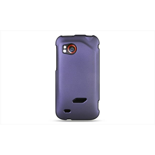 DreamWireless CRHTCVIGORPP HTC Rezound & Vigor Crystal Rubber Case Purple