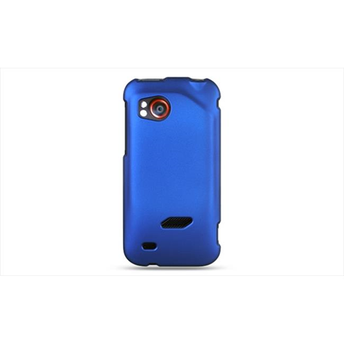 Dreamwireless Fitted Soft Shell Case for HTC Rezound - Blue
