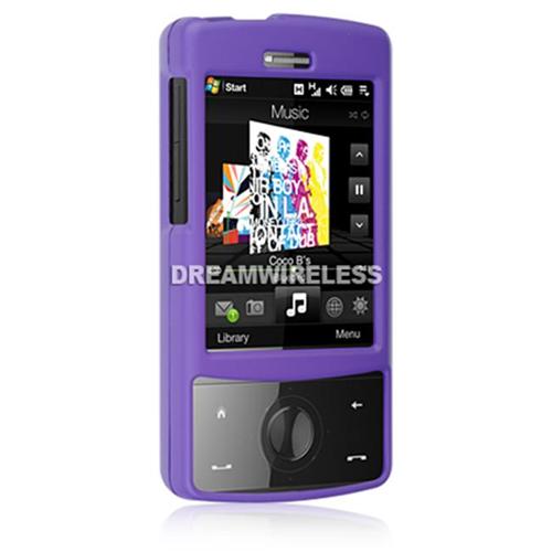 DreamWireless CRHTCTDPP HTC Touch Diamond Rubber Case - CDMA Purple