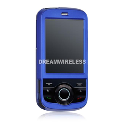 DreamWireless CRHTCSH2BL HTC Shadow II Crystal Rubber Case - T-Mobile-GSM Blue