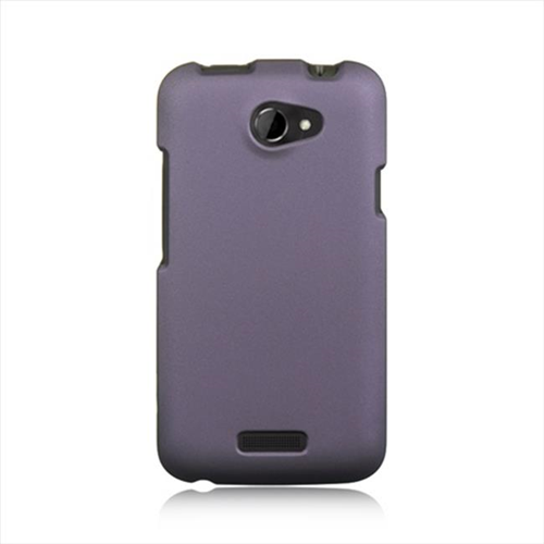 DreamWireless CRHTCONEXPP HTC One X Crystal Rubber Case Purple
